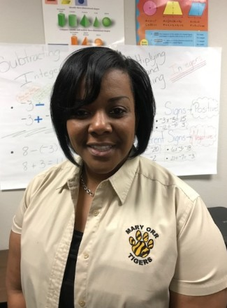 Teacher of the Month LaShun Smith